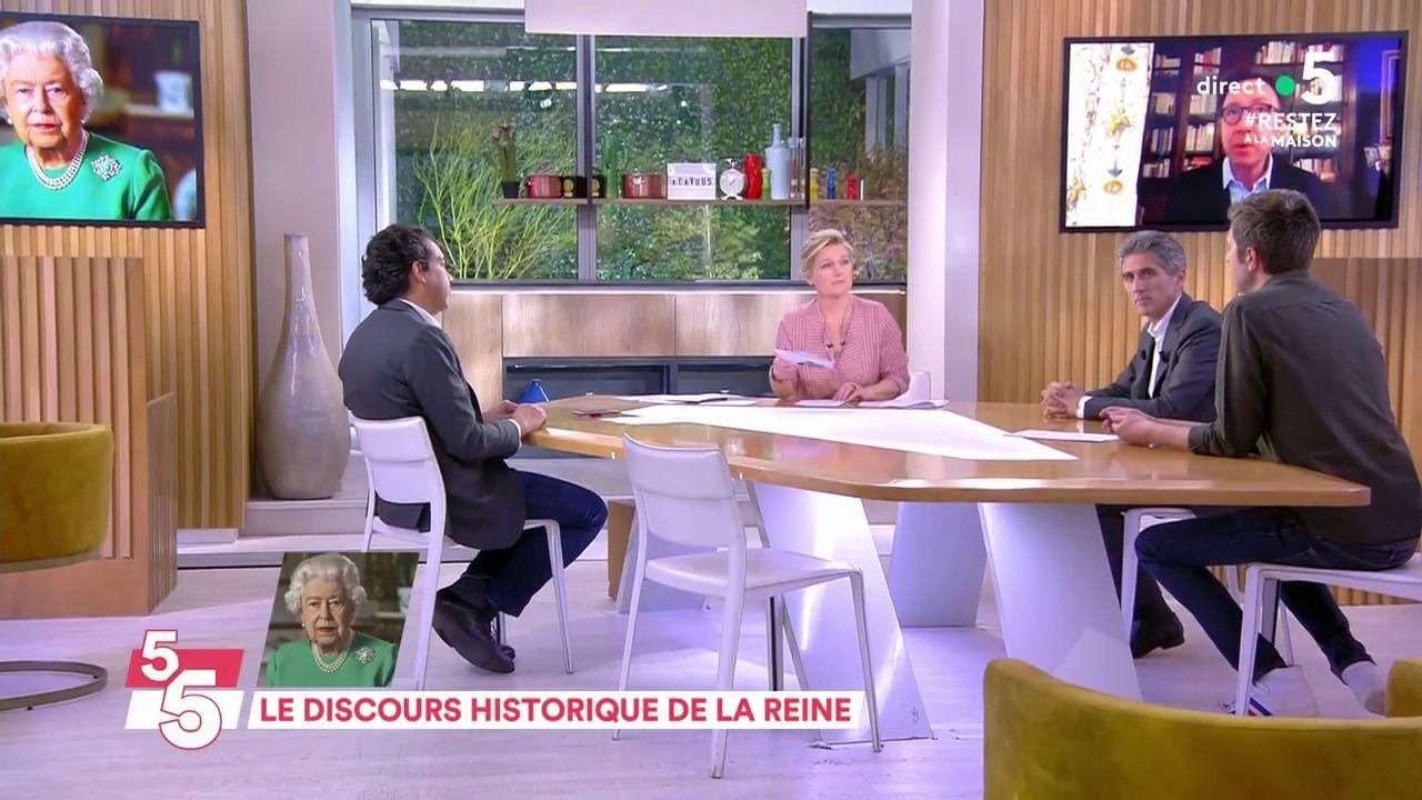 VIDÉO Stéphane Bern analyse le discours de la reine