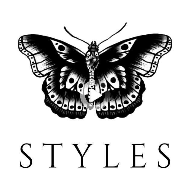 Women Men Health Fashion Mode In 2021 Harry Styles Butterfly Butterfly Tattoo Harry Styles T Shirt