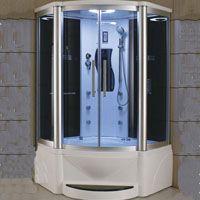 Eagle Bath Steam Shower Enclosure W Whirlpool Bathtub Combo 52 X 87