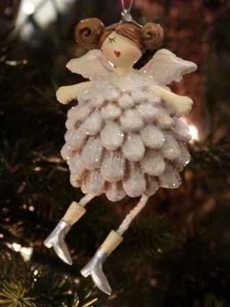 Colgante arbol de navidad angelito pi a de sia en www - Arbol de pina ...