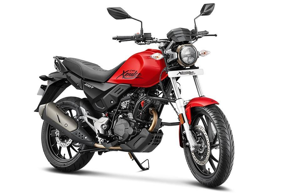 Hero Xpulse 200t Colors Golden Black Red Grey Hero Bike