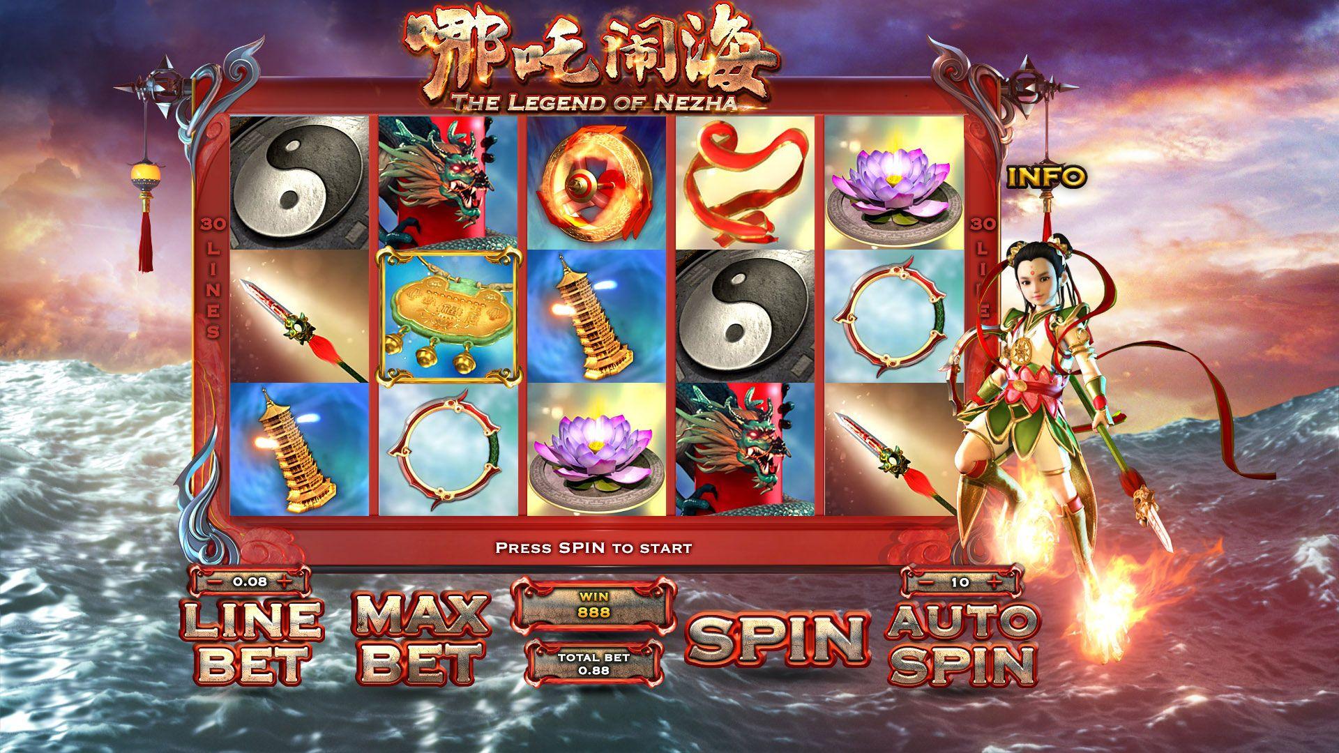 The Legend of Nezha Slot Machine