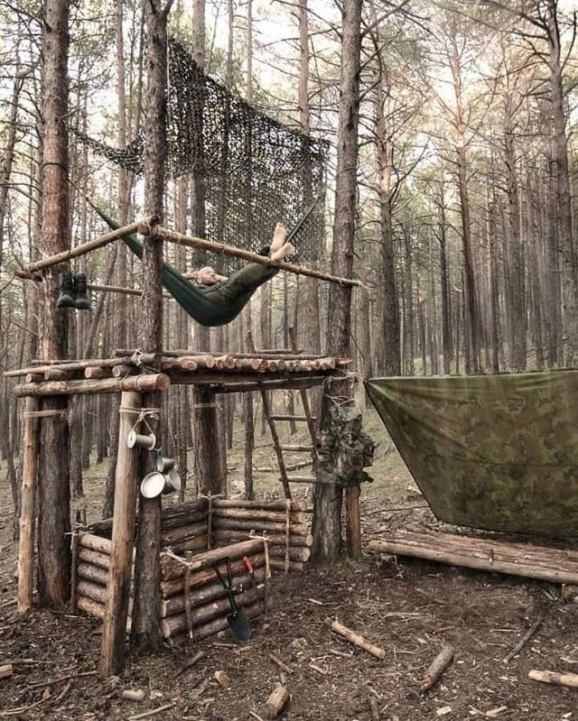 Bushcraft Skills – How To Survive In The Wilderness #thegreatoutdoors