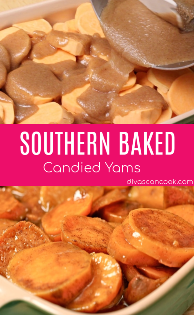 Photo of Southern Baked Candied Yams Recipe