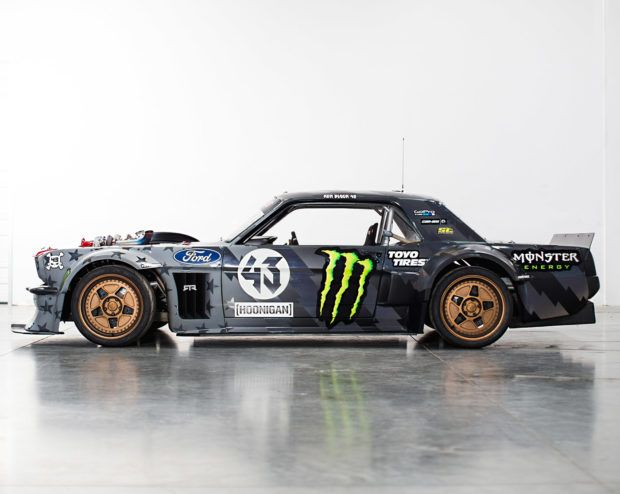 Hoonicorn 2 0 Now With 1 400 Hp And Twin Turbos Ken Block Ford Mustang Ken Blocks