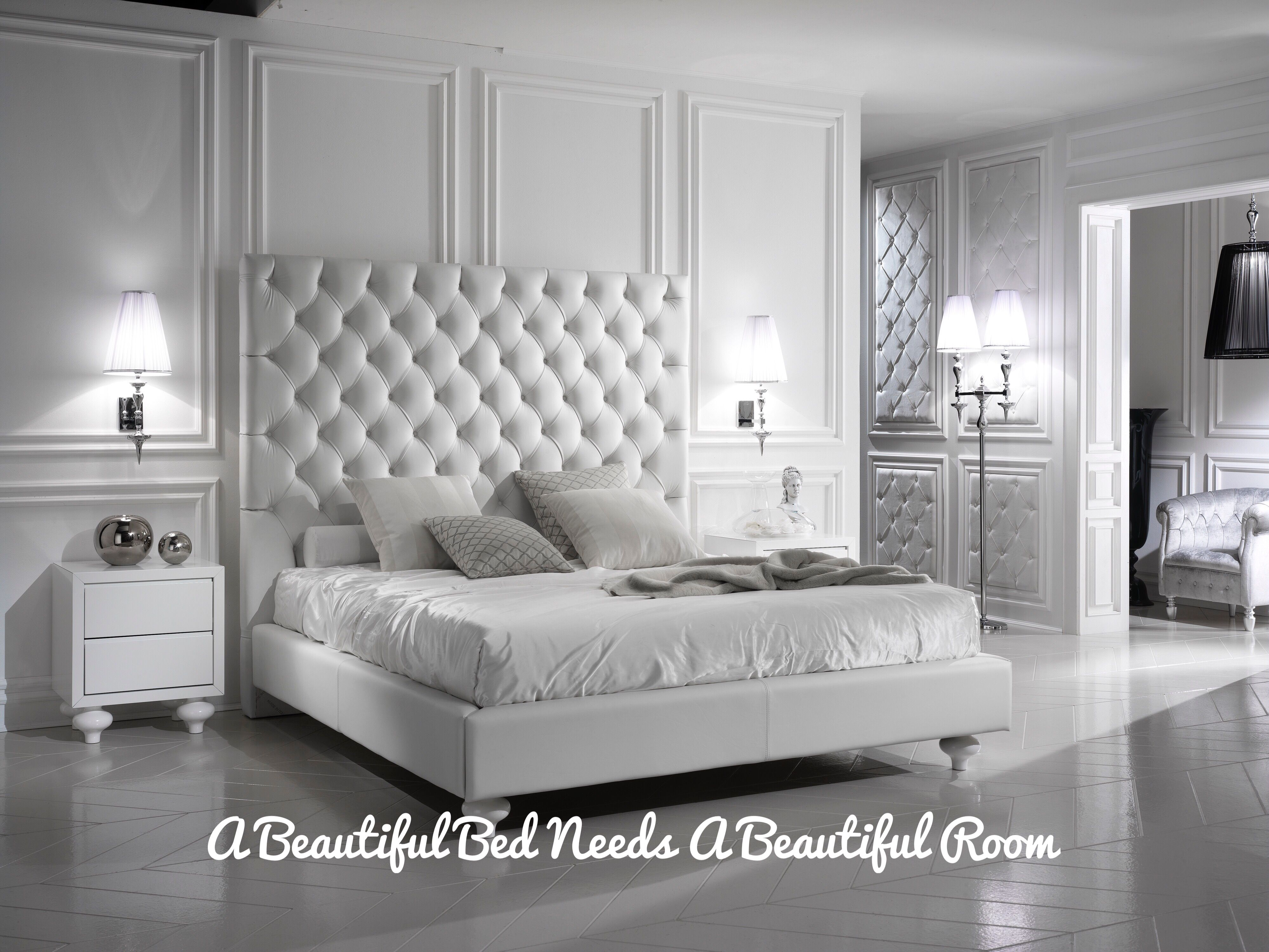 inspirational beds of white bed elegant unique love high less inner the decorator design ideas features headboard home will leather for interior your