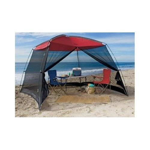 Beach Screen House Tent Gazebo Canopy Awning Tailgating Party C&ing Yard 10Ft  sc 1 st  Pinterest & Beach Screen House Tent Gazebo Canopy Awning Tailgating Party ...