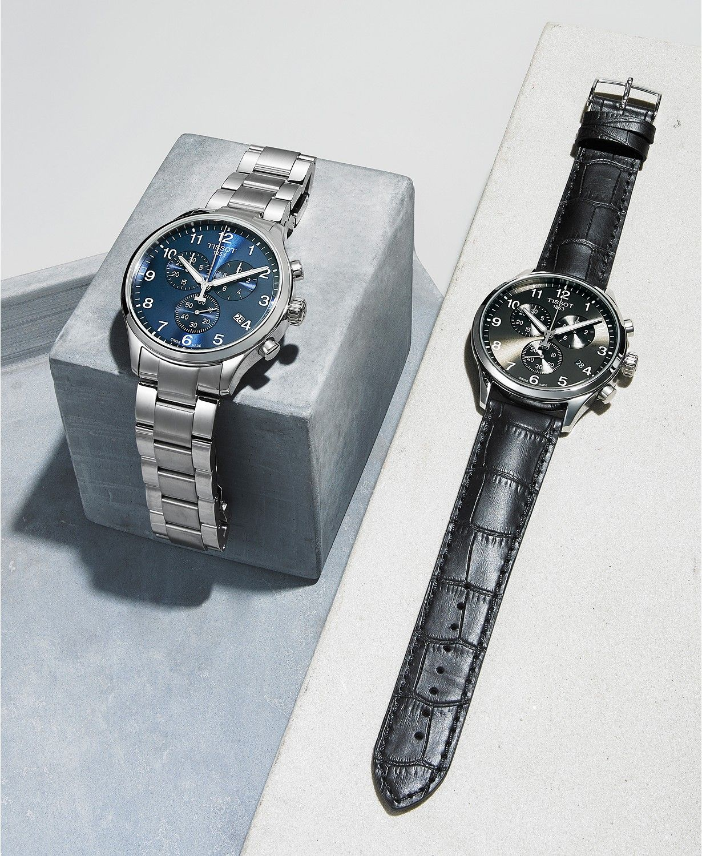 3442bd473a9 Tissot Men's Swiss Chronograph Chrono XL Classic T-Sport Stainless Steel  Bracelet Watch 45mm -