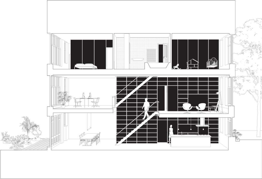 Vertical loft by shift architecture urbanism extreme makeover of a architecture solutioingenieria Gallery