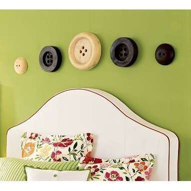 Wall buttons | Home Decor - Wall Art | Pinterest | Walls, Decorating ...