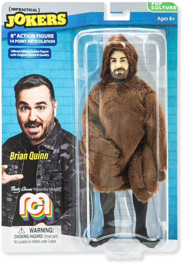 Mego 8Inch Impractical Jokers Brian Q Action Figure