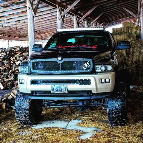 2nd Gen Dodge Ram Custom Lightbar Grille Cummins Trucks Trucks Dodge Trucks