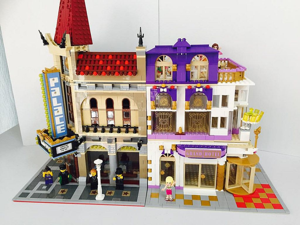 From Now I M Building A 41101 Grand Hotel Modular Version Please Search Kupi Brick On Youtube And Click The Subscribe Legominifigures Legofigures Lego House Amazing Lego Creations Lego Creations