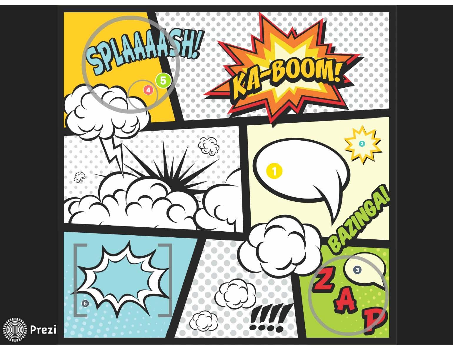 Comic Comic Book Pages Create Your Own Comic Comic Book Template