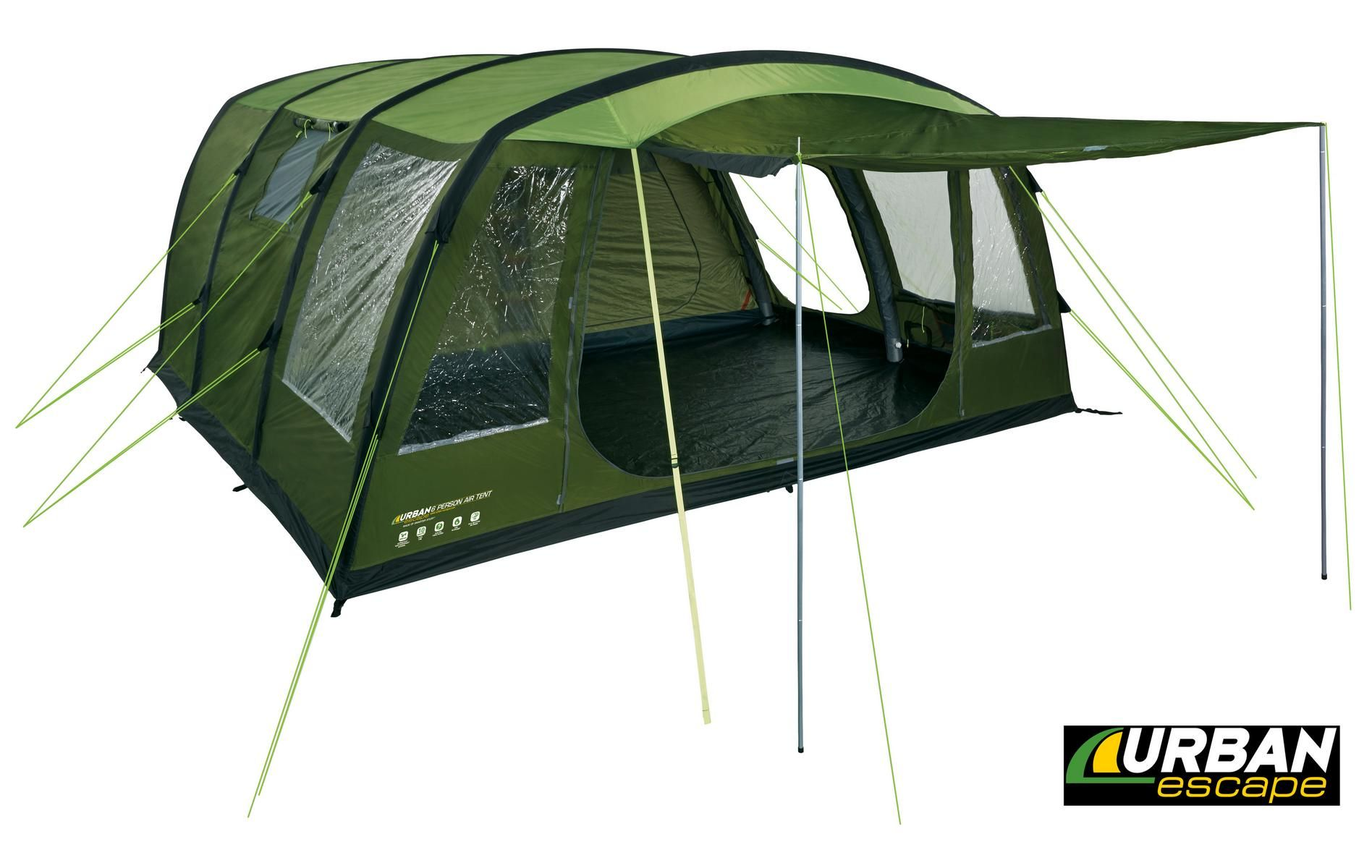 Urban Escape 6 Man Air Tent  sc 1 st  Pinterest & Urban Escape 6 Man Air Tent | Camping | Pinterest | Air tent and Tents