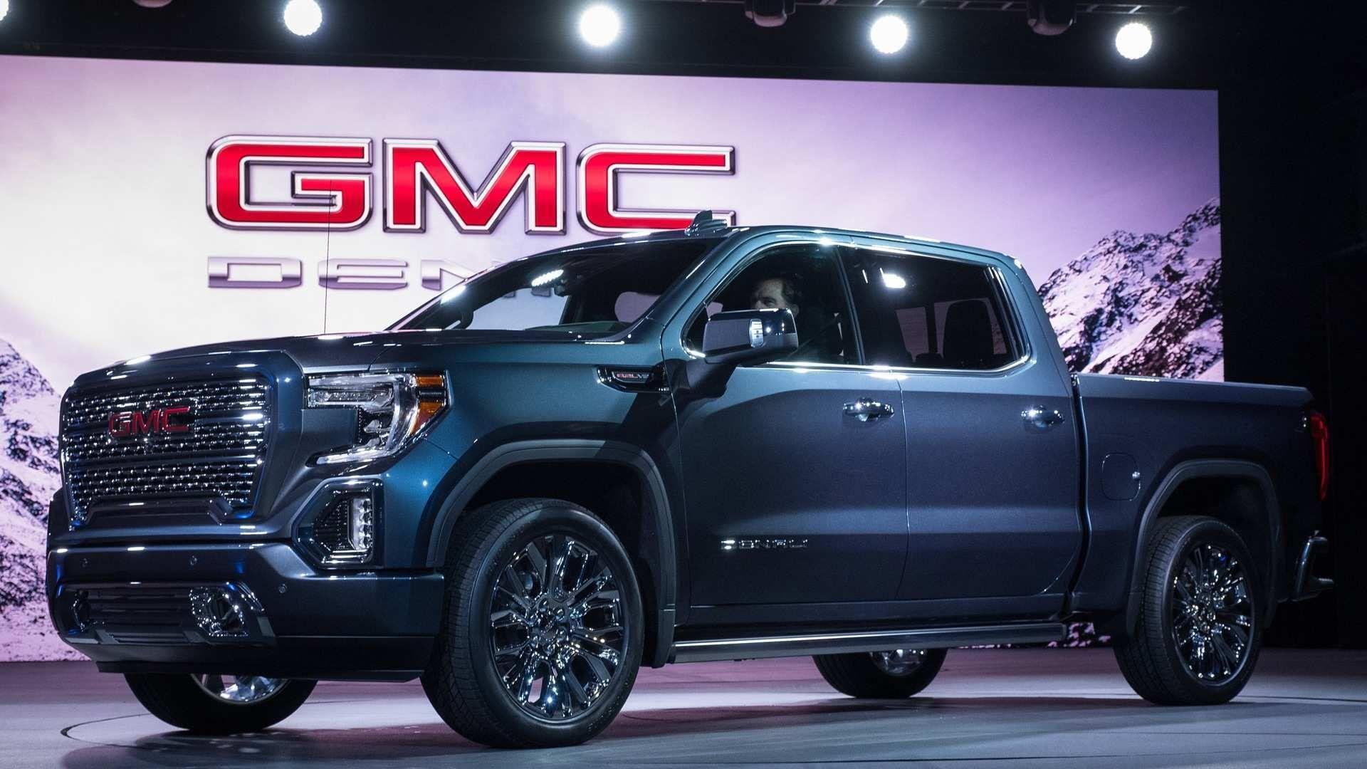 2020 Bmw Sierra Heads Up Display Concept In 2020 Gmc Trucks Gmc Sierra Denali Gmc Denali