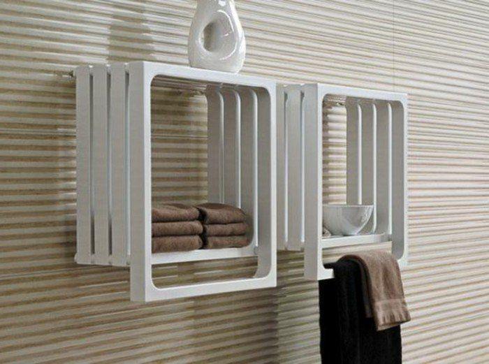 Le porte serviette en 40 photos d\'idées pour votre salle de ...
