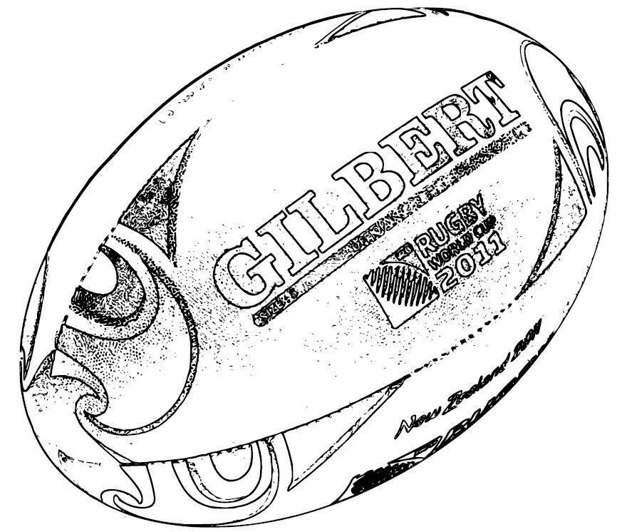 12 Simpliste Coloriage De Rugby Stock En 2020 Coloriage Rugby