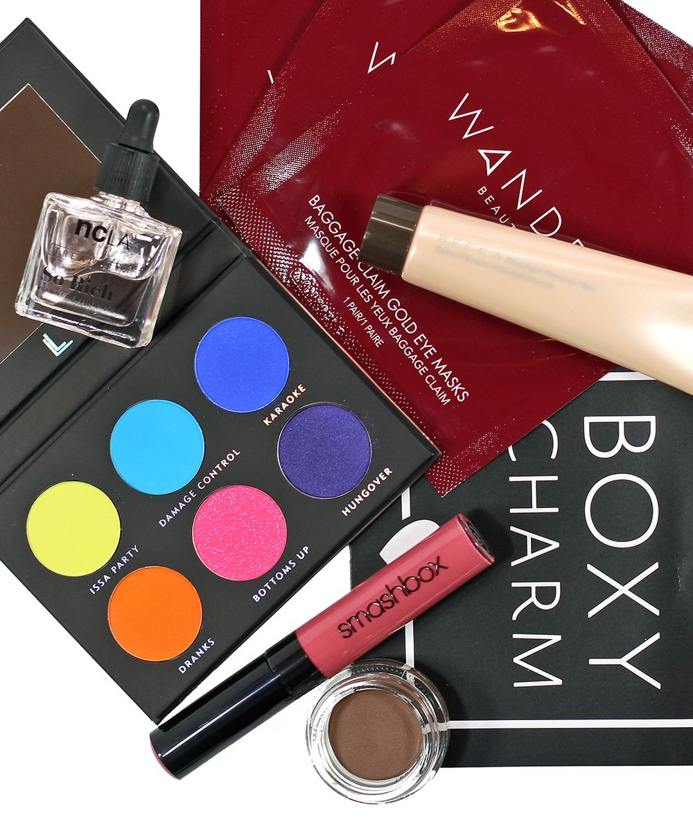 Boxycharm August 2018 Unboxing Beauty subscriptions