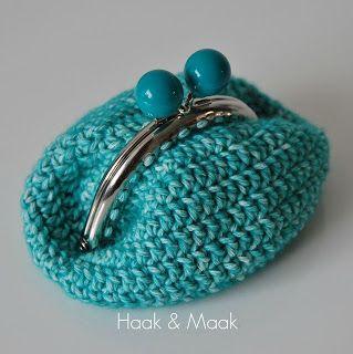 Iets Nieuws portemonnee sluitinkjes weer bij de action!!! | Crochet Littl BAGS #NC81