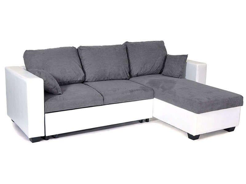 Canapé d angle réversible et convertible 4 places SALLY coloris