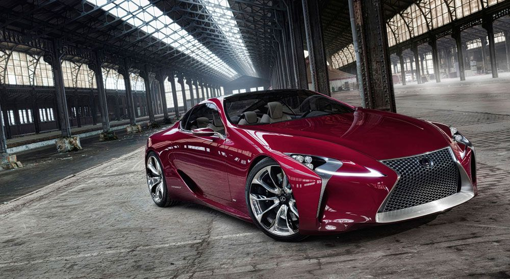 Lexus LFLC Coupe to Have TwinTurbo 600+ Horsepower V8