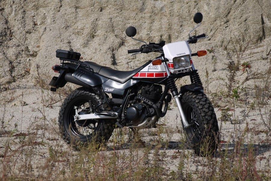 2001 Tw200 Big Wheel Custom Tw200 Yamaha Tw200 Yamaha