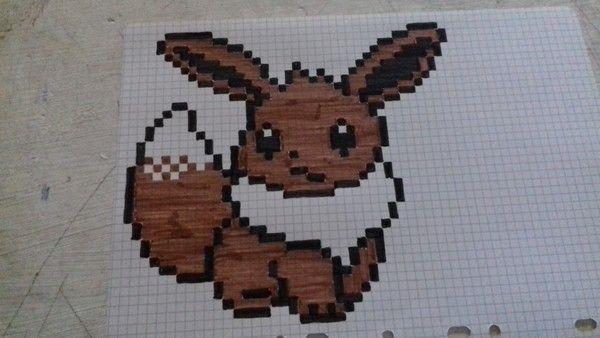 Epingle Par Elodie Marchetti Sur Pixel Art Pixel Art Pokemon Dessin Pixel Dessin Petit Carreau