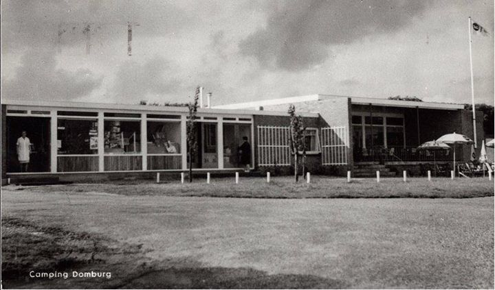 Camping domburg 1950-1960