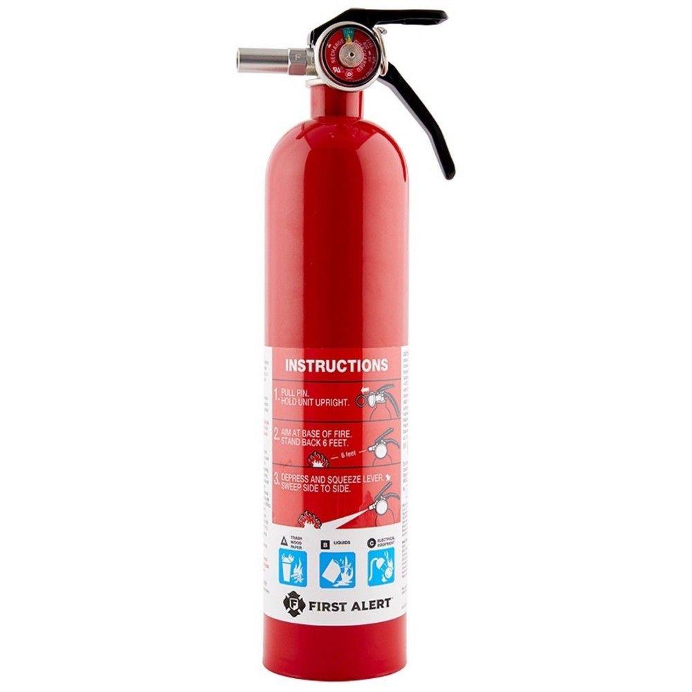 First Alert Home Multipurpose Fire Extinguisher Fire Extinguisher Fire Fire Extinguisher Cabinets