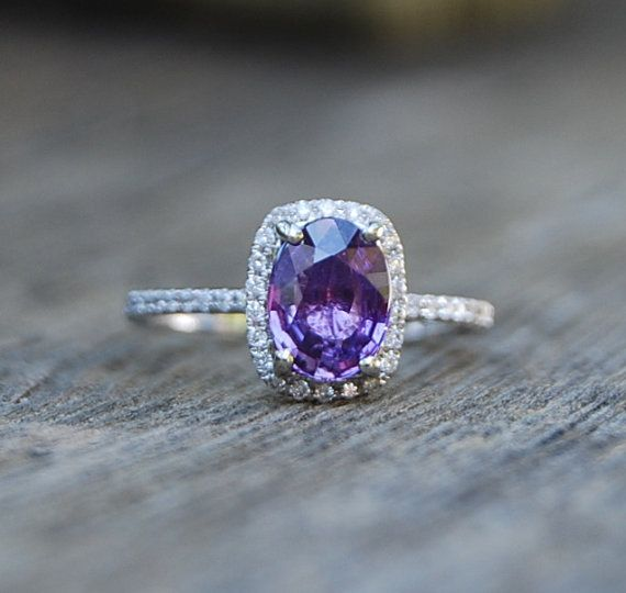 il cushion listing engagement sapphire rings ring promise lavender
