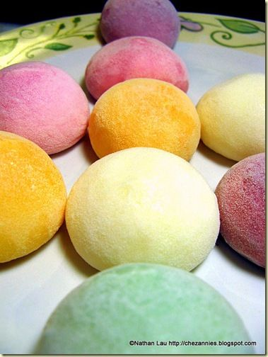 I would very much like to eat some mochi ice cream right now. Yes ...