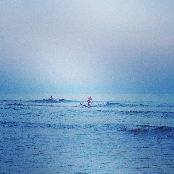 Twilight Surfing Surfing Beautiful Images Outdoor