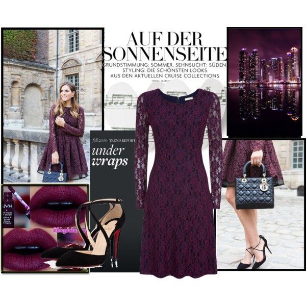 Maroon by lejla13 on Polyvore featuring polyvore, fashion, style and Kaliko