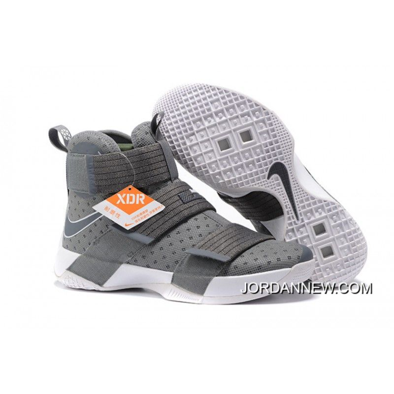 Nike LeBron Soldier 10 Cool Grey/White Top Deals YJDh3iA, Price: $99.91 -