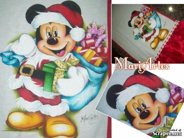 Pintura em tecido pintura en tela - Motivos navidenos para pintar en tela ...