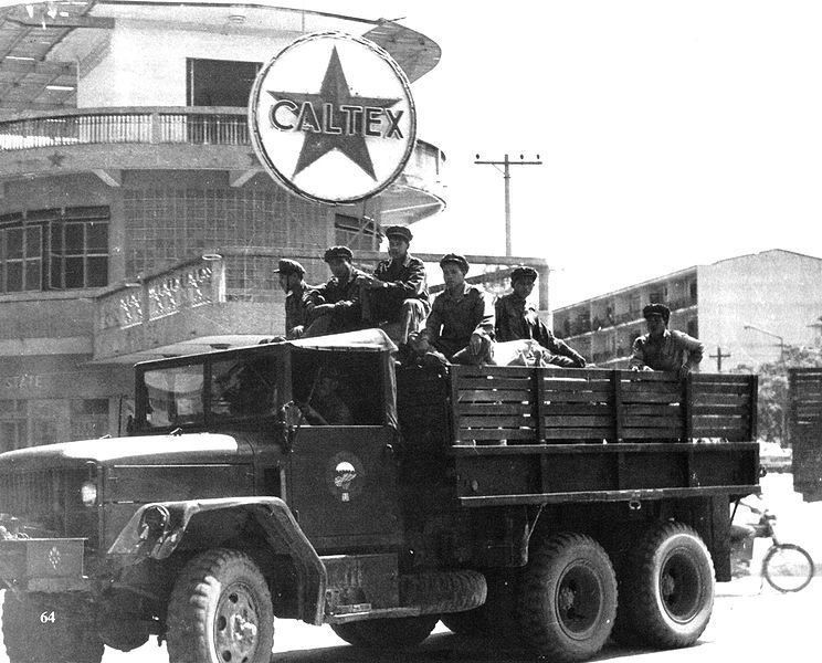 """During WWII, there was a Japanese invasion, after that the country declared its independence on 12 October 1945, but the French under Charles de Gaulle re-asserted control. In 1950 Laos was granted semi-autonomy as an """"associated state"""" within the French Union."""