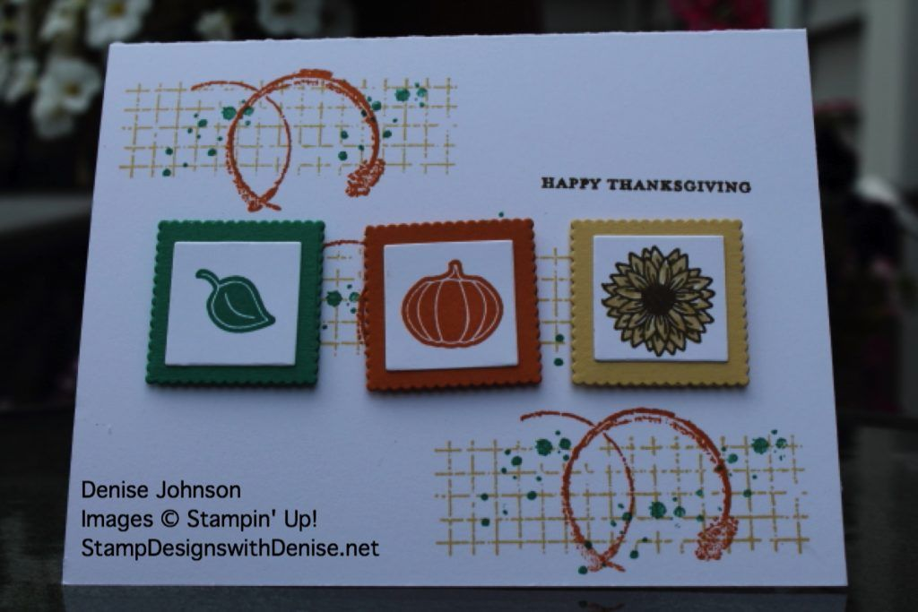 Stampin' Up! Every Occasions Stamp Set, Gorgeous Grunge Stamp Set, Layering Squares Framelits