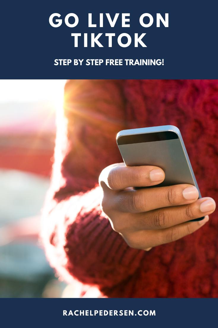 How To Go Live On Tiktok Free Training Social Media Marketing To Go