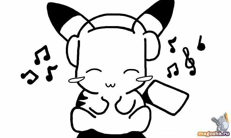 Pin De Xamira Y En Arte Angel Para Dibujar Dibujo De Pikachu