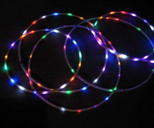 21 LED Rechargeable Hula Hoop