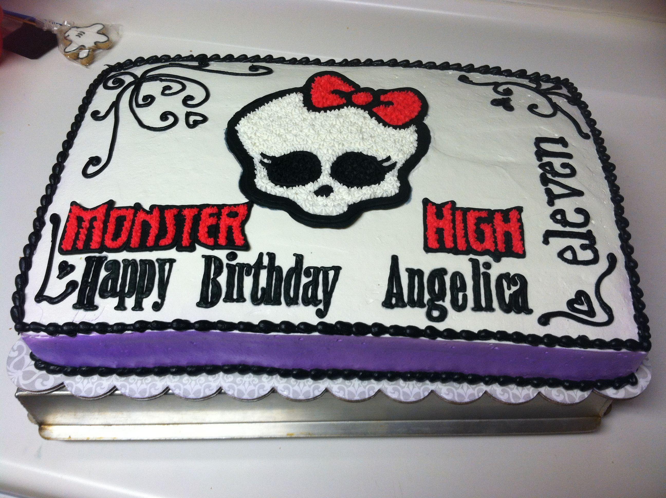 Monster High cake | birthday ideas | Pinterest | Motivtorten