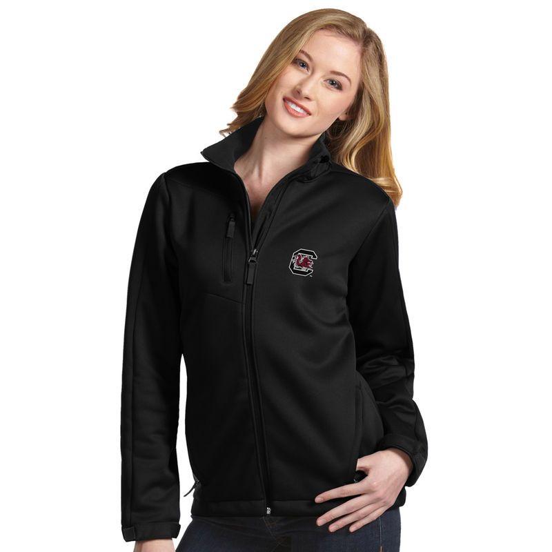 South Carolina Gamecocks Antigua Women's Traverse Full-Zip Jacket - Black