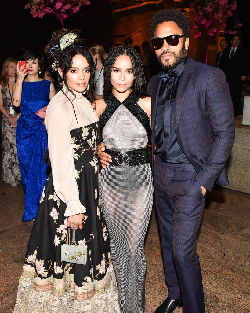 Lenny Kravitz Has Said That Zoe His Daughter S Wedding Will