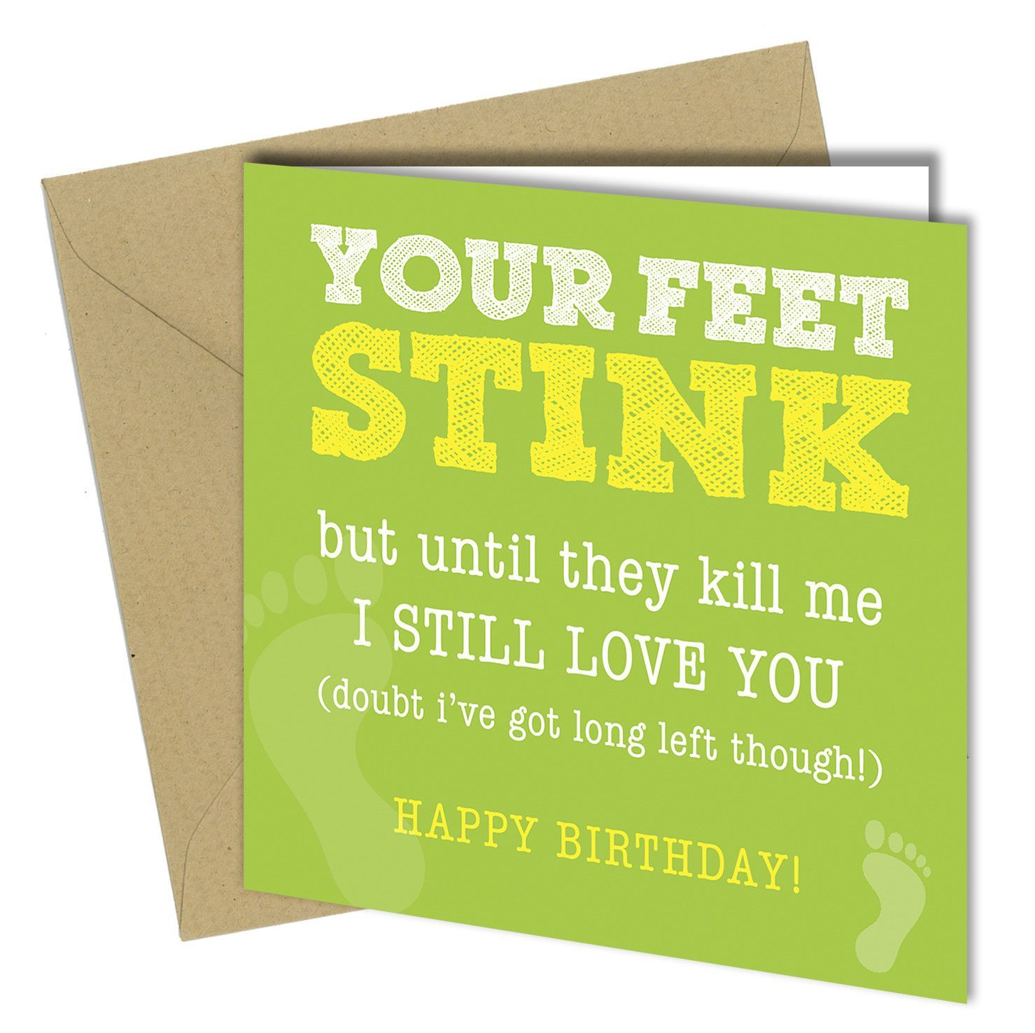#517 Your Feet Stink