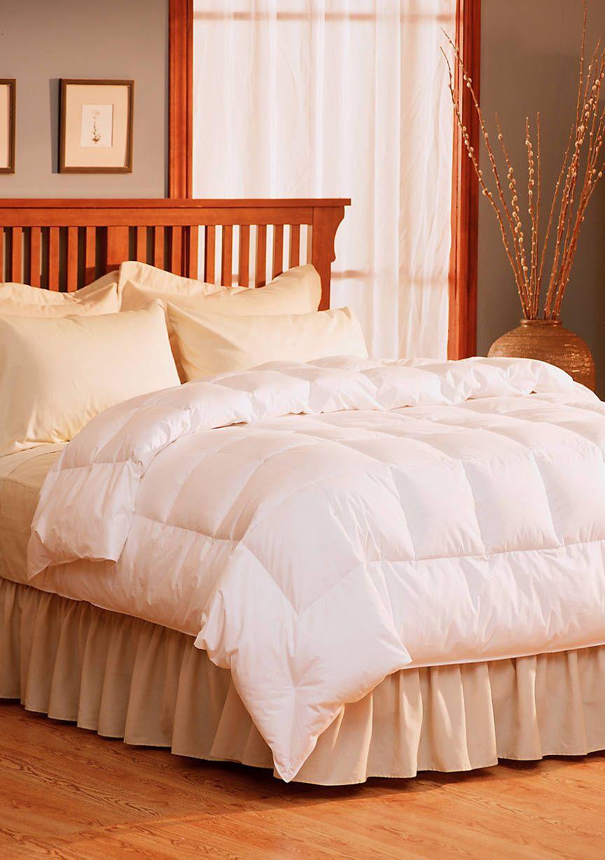 Calvin Klein Pacific Coast Light Warmth Down Comforter White