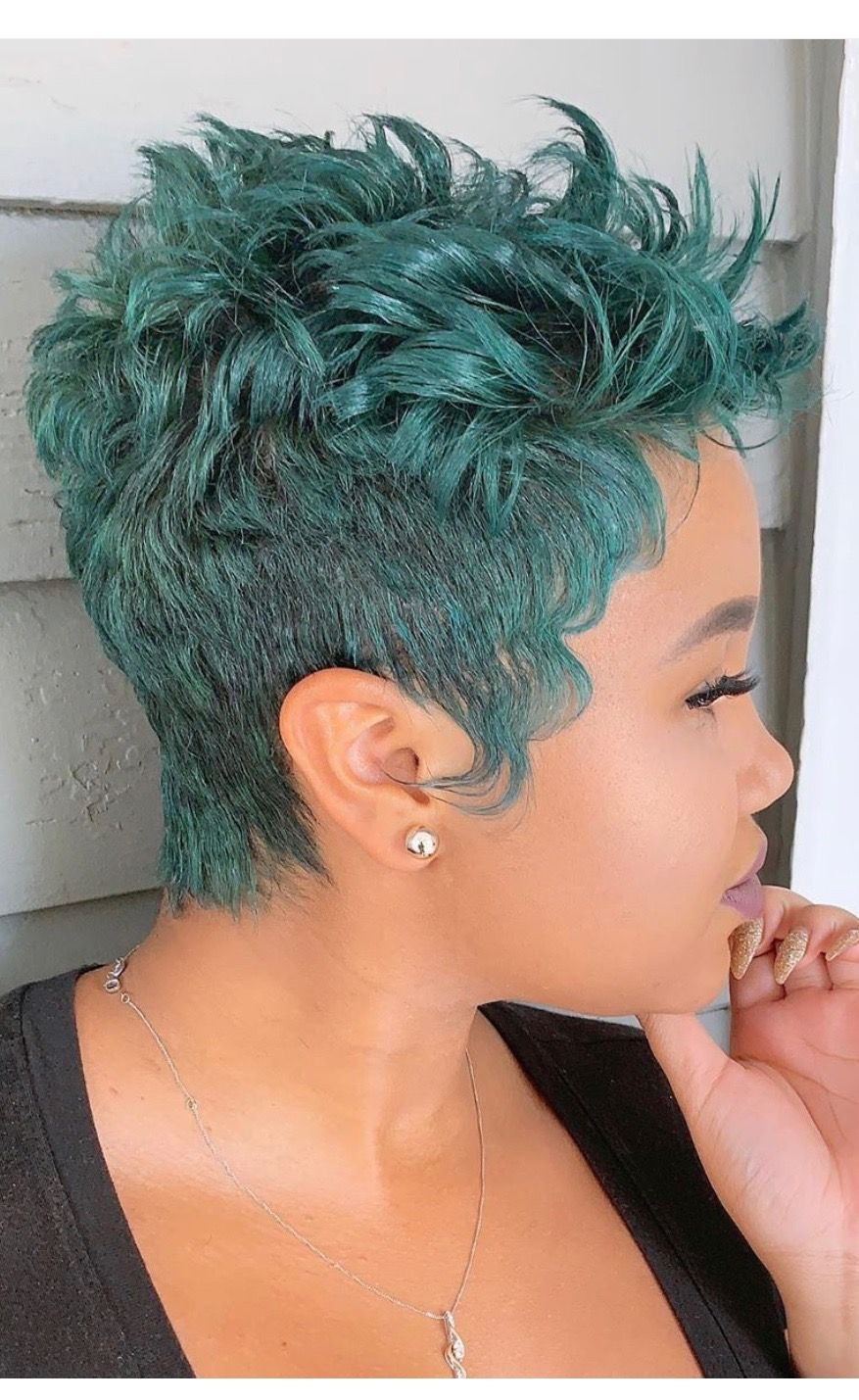 Luv The Cut Style Not The Color Short Natural Hair Styles