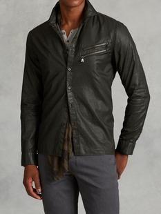 0c69212e4fcfd Resin Coated Cotton Shirt
