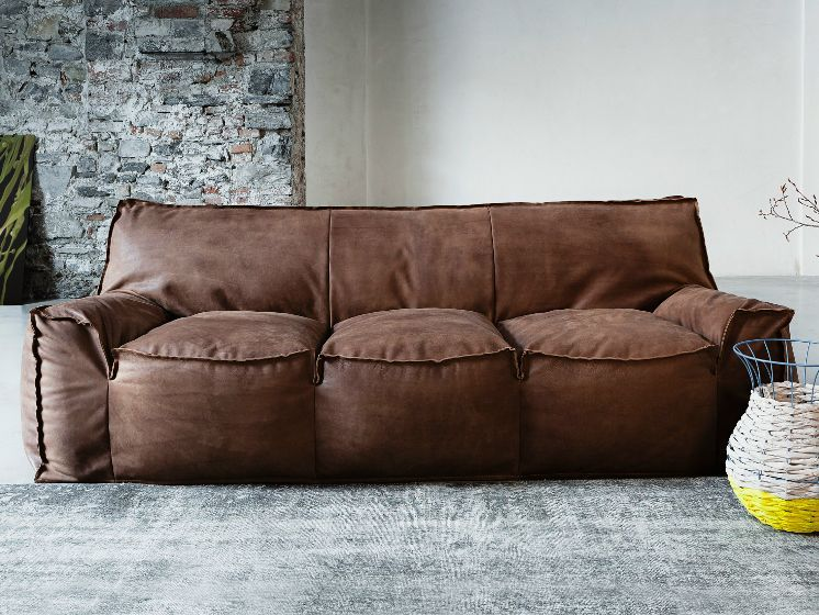 Soft Leather Sofas For A Maximum Comfy And Stylish Living E Leathersofa