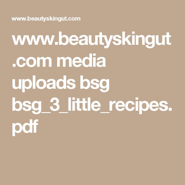 Beautyskingut media uploads bsg bsg3littlerecipespdf beautyskingut media uploads bsg bsg3littlerecipespdf forumfinder Image collections